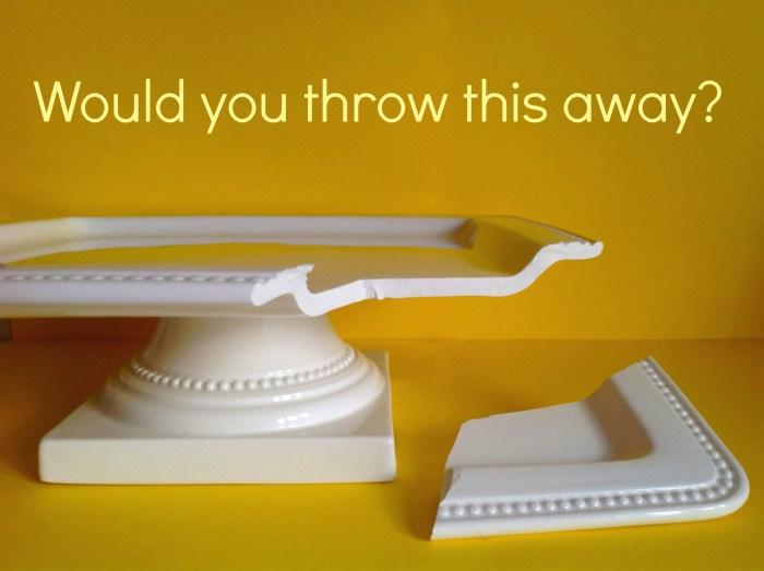 Never Ever Throw A Broken Dish Away Again!