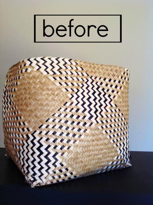 Repurposing A Torn Basket