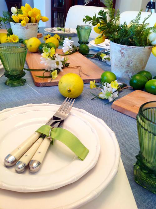 Citrus Table Settin  - mydearirene