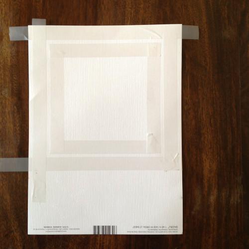 Matboard With Tape - mydearirene