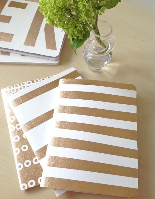 Oh So Glamorous DIY Notebooks!