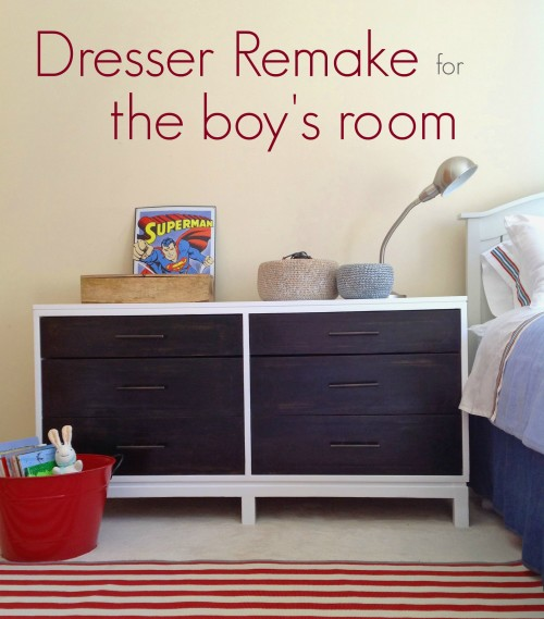 Dresser Remake For The Boy's Room - mydearirene.com