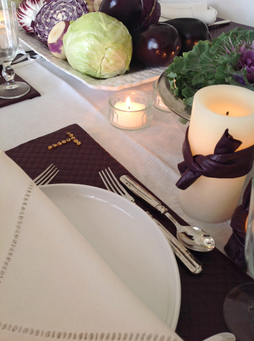 DIY Placemat With Monogram - mydearirene.com