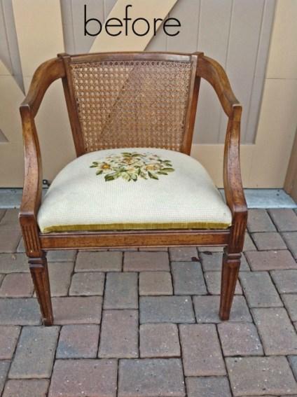 Easy Armchair Reupholstering