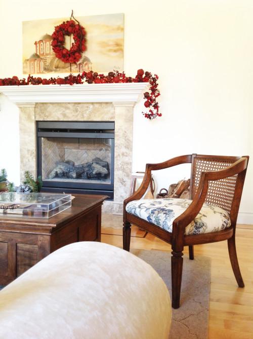 Armchair & Fire Place - mydearirene.com