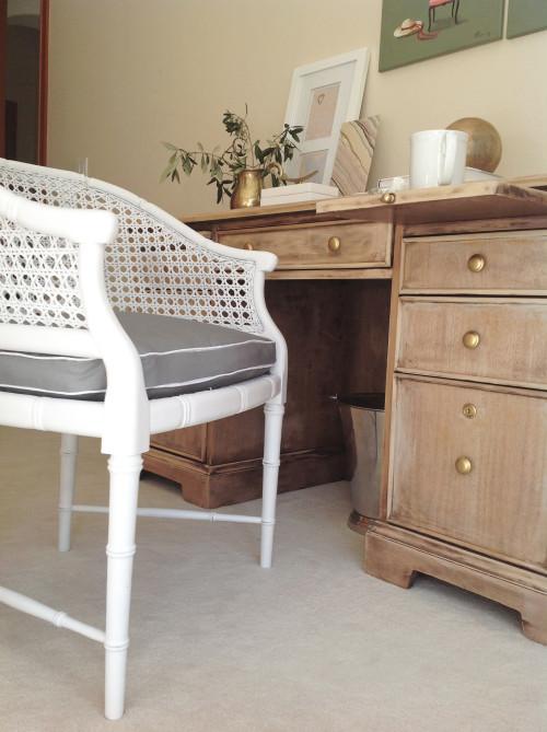 Cane Chair Remake - mydearirene.com