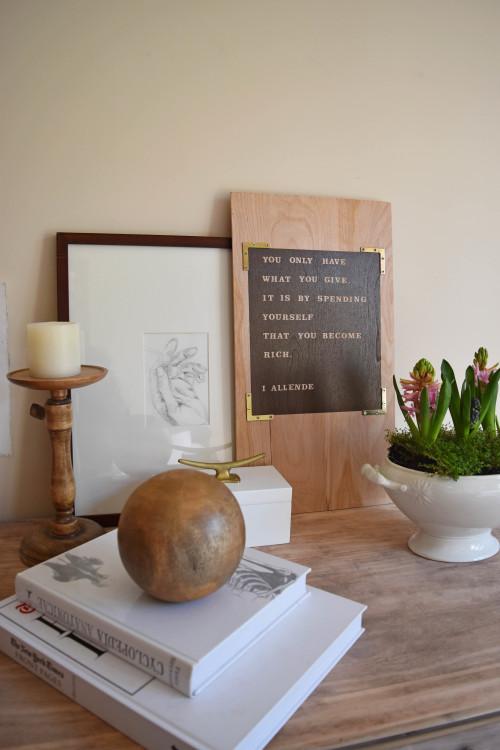 Wall Art On Plywood - mydearirene.com