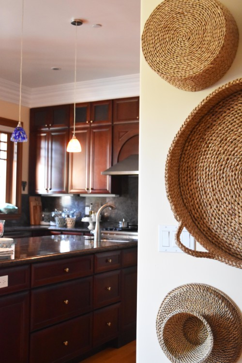 Kitchen Wall With Baskets - mydearirene.com