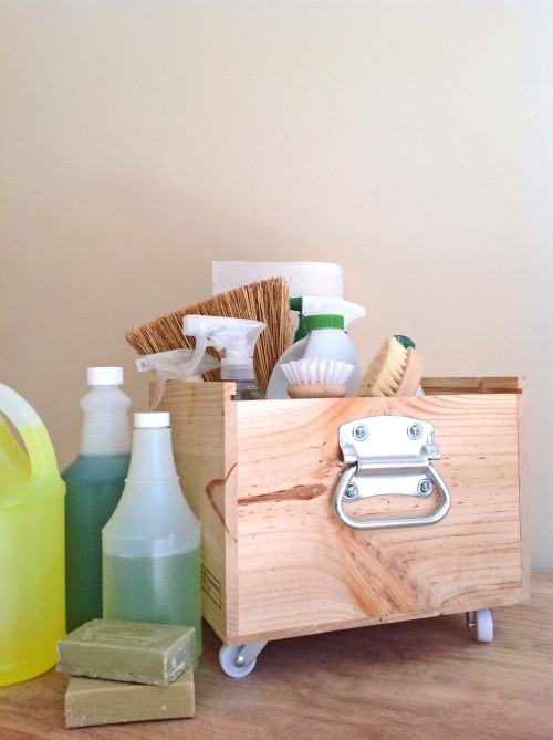 Cleaning Caddy Handle - mydearirene.com