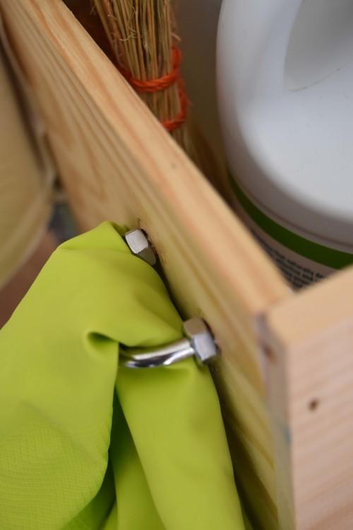 Cleaning Caddy Hook Detail - mydearirene.com