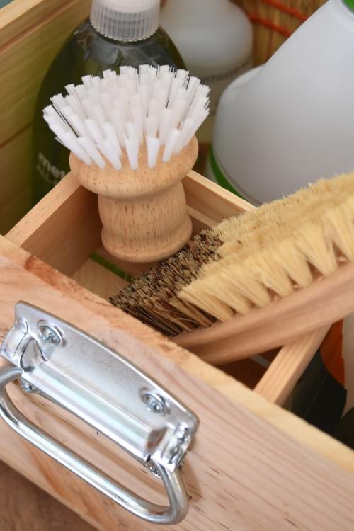 Cleaning Caddy Inside Pocket - mydearirene.com