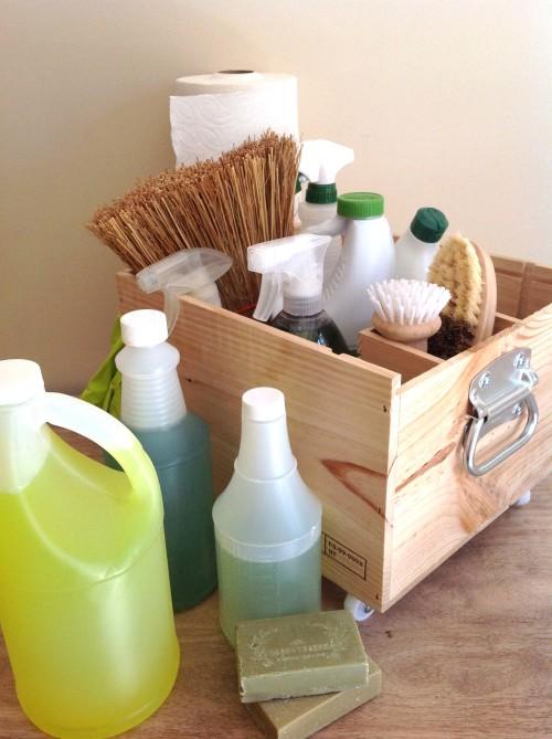 DIY Cleaning Caddym II - mydearirene.com