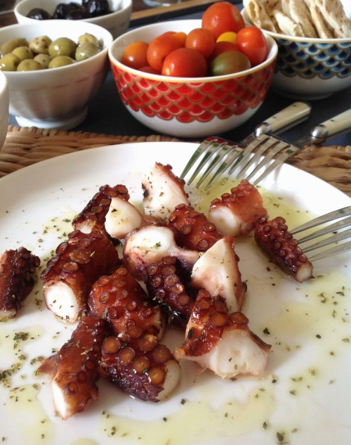Octopus Appetizer - mydearirene.com