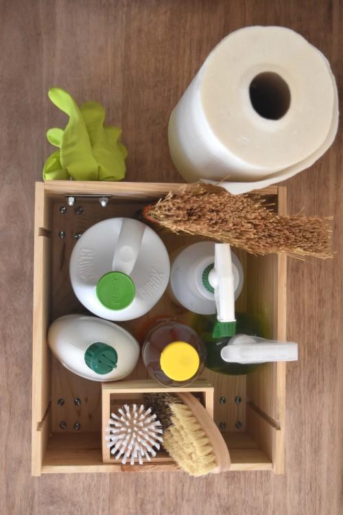 Organized Cleaning Caddy - mydearirene.com