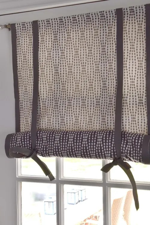 No-Sew, Double-Sided, Roll-Up, DIY Window Shade