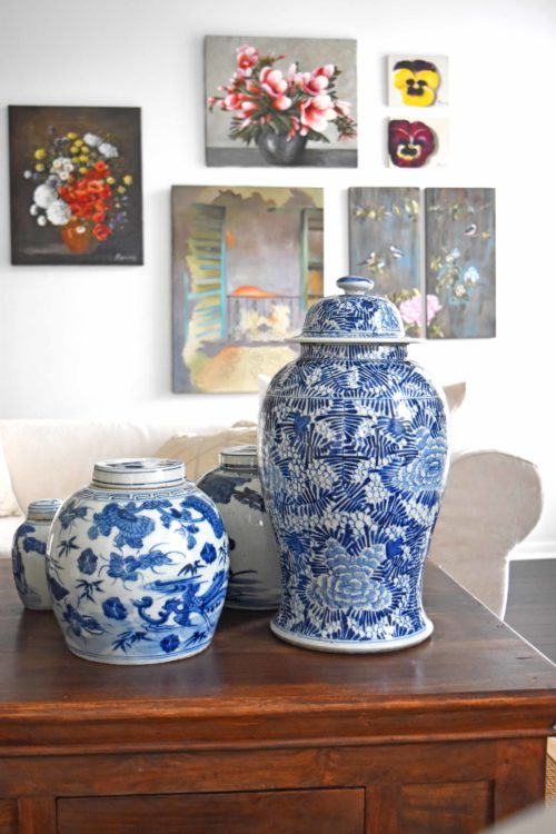Living Room With Chinoiserie - mydearirene.com
