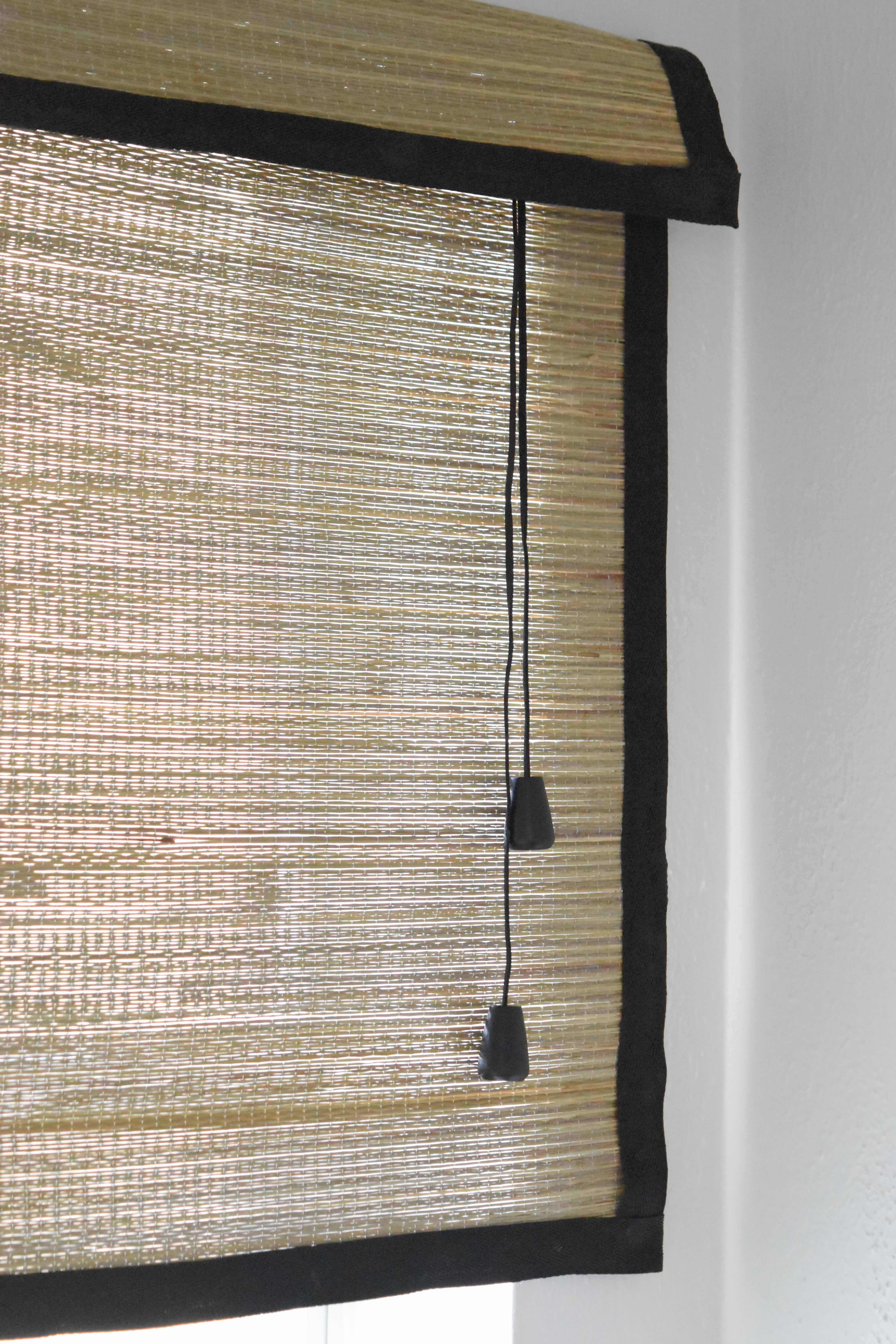 How To Convert A Beach Mat Into A Bamboo Blind Once
