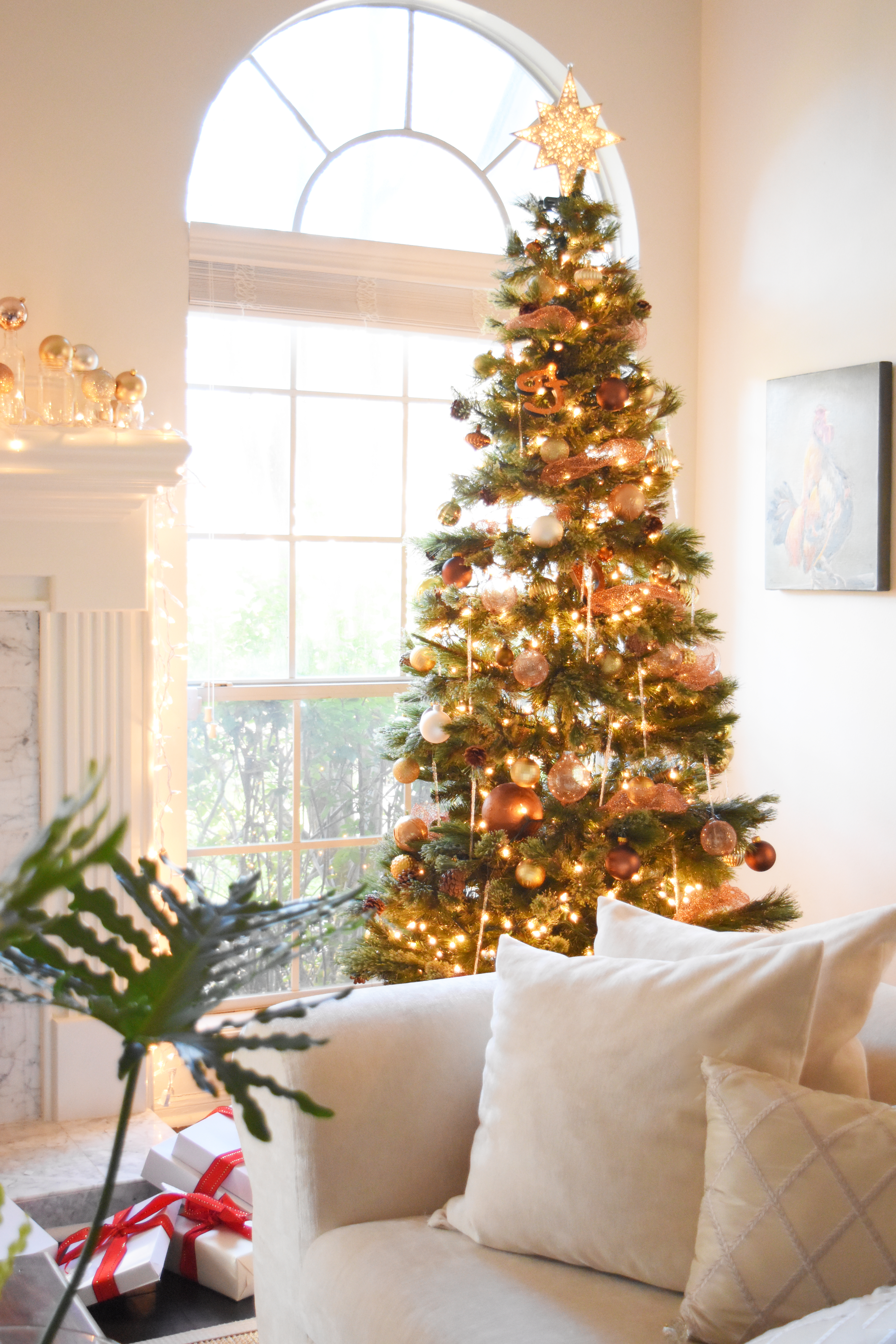 Diy copper mesh garland for your christmas tree once again my to make them you will only need to get a few copper scrubbing pads from your grocery store note 1 use scotch brite note 2 i had a hard time finding solutioingenieria Image collections