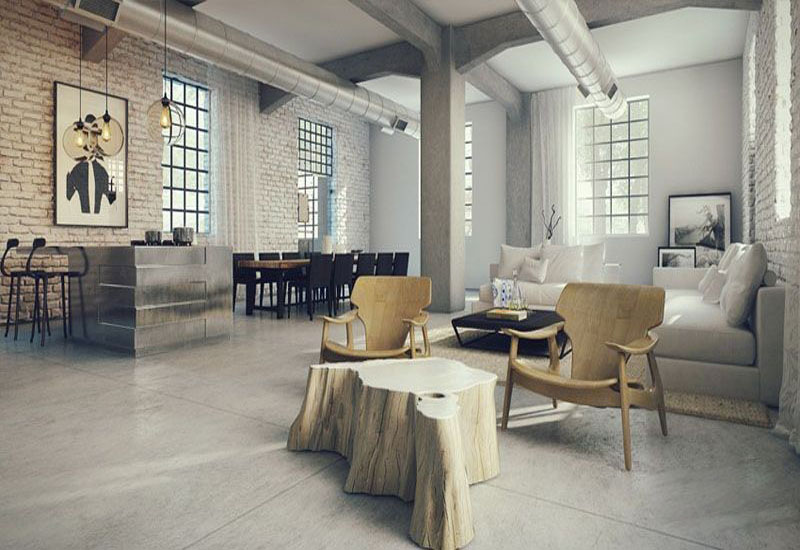 exquisite industrial interior designs