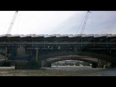 River Thames Boat Tour of London, England