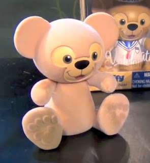 Vinylmation Duffy the Disney Bear - Fuzzy Flocked Version... SO CUTE!