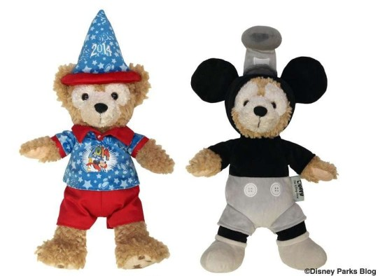 "Duffy Disney Bear 12"" 2014 Celebration Duffy and Steamboat Willie"