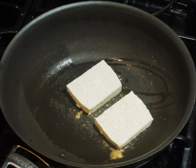 Pan Fry Tofu - Cook