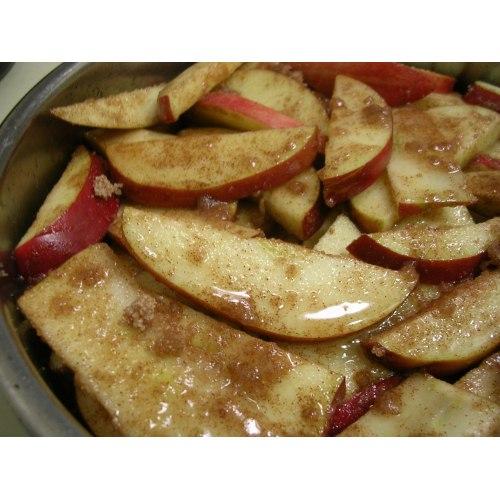 Medium Crop Of Sliced Baked Apples
