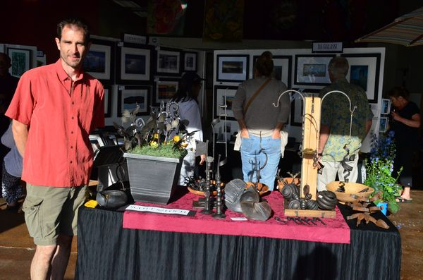 Scott Szloch Ironworks specializes in one-of-a-kind handmade items for the home and garden.