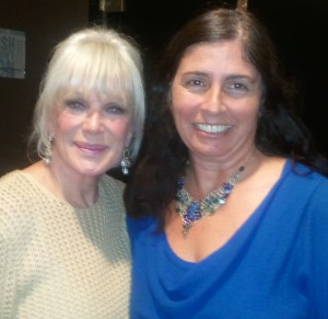 Linda Williams with Wendy Kendall