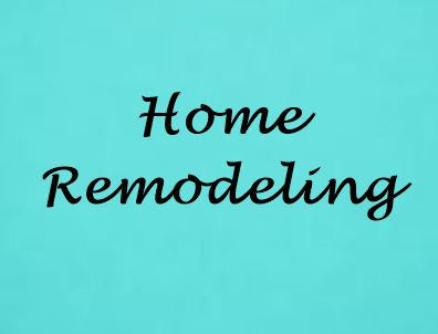 Home remodeling September best