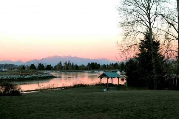 Crescent Beach has been labeled a top sunset location.