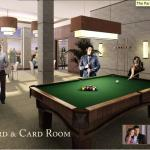 The Upper Village - Billiard and Card Room