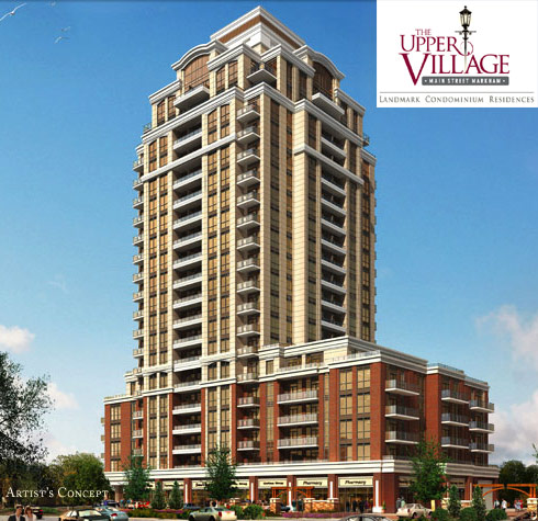 The Upper Village, condos on Main Street Markham
