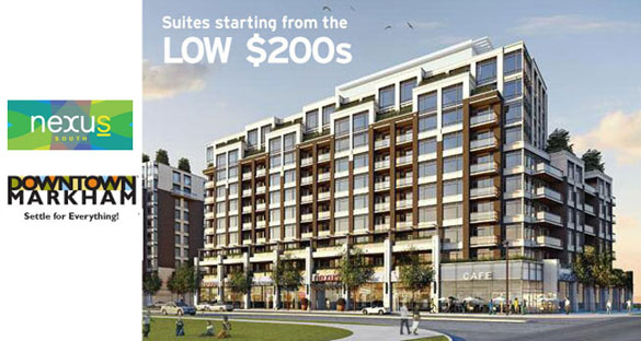 Nexus South Condos at Downtown Markham, Register Now for the VIP Sales