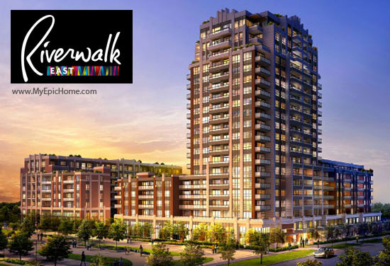 Uptown Markham Phase 2 Riverwalk East now available for sale