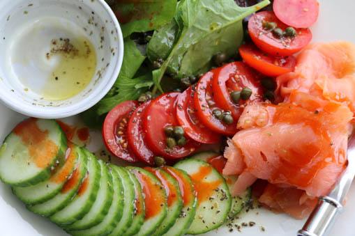 Ab-tastic Smoked Salmon Salad