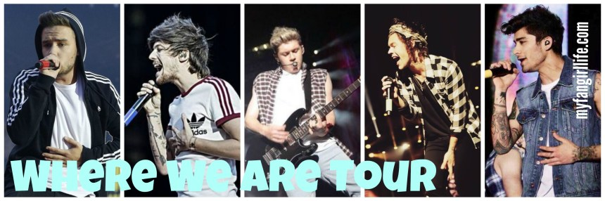 1D Where We Are Tour