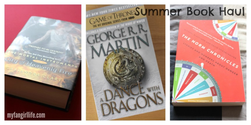 Summer Book Haul - Bought