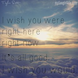 Taylor Swift 1989 Lyrics - I Wish You Would 2