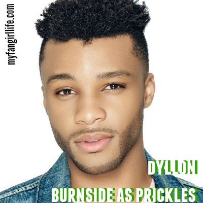 dyllon burnside as prickles