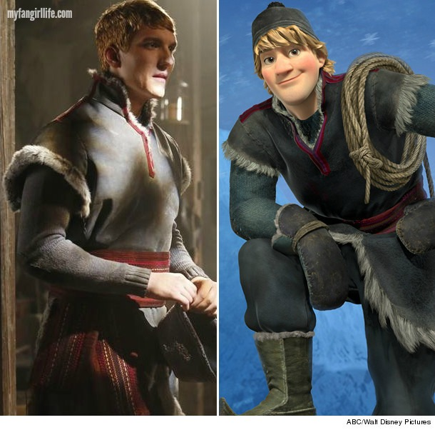 Cappie as Kristoff