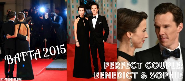 BAFTA 2015 - Benedict & Sophie