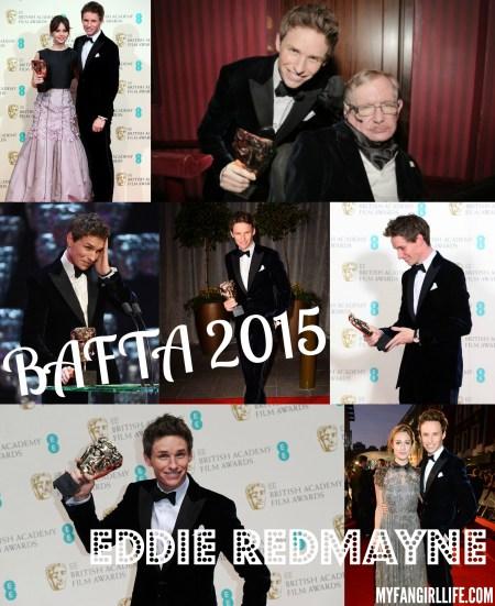 BAFTA 2015 - Eddie Redmayne