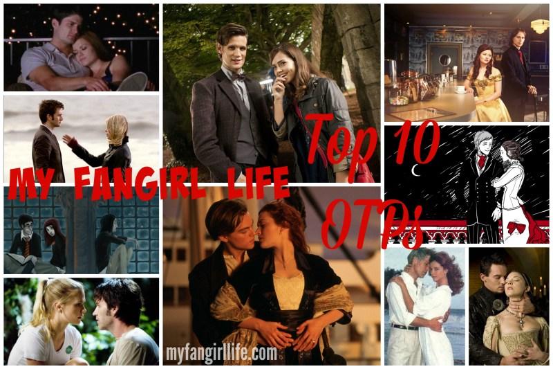 Justine Fangirl Top 10 OTPs