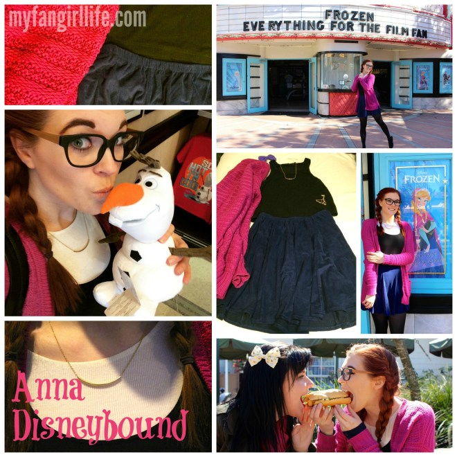 Frozen Anna Disneybound Outfit