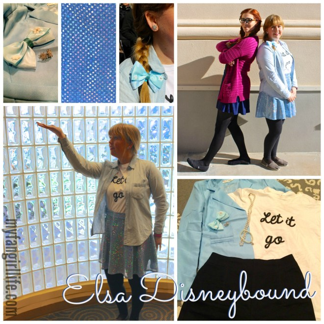 Frozen Elsa Disneybound Outfit