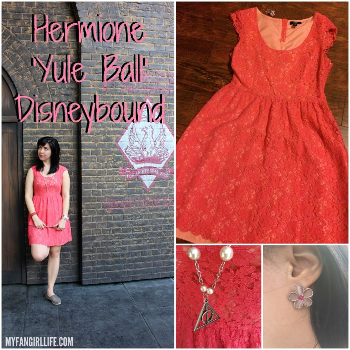 Hermione Yule Ball Disneybound