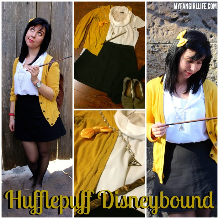 Hufflepuff Disneybound