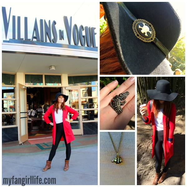 Villians Captain Hook Disneybound